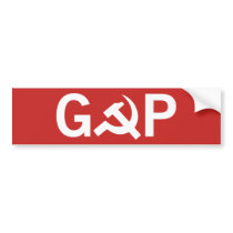 Russian GOP Bumper Sticker