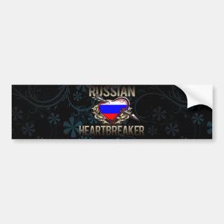 Russian Heartbreaker Car Bumper Sticker