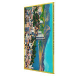 Russian Hill Skyline with Stretched Canvas Prints
