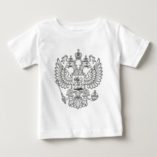 Russian Imperial Coat of Arms Baby T-Shirt