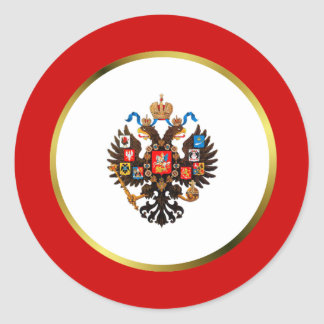 Russian Imperial Crest Stickers