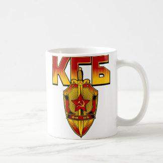 Russian KGB Badge Soviet Era Coffee Mugs