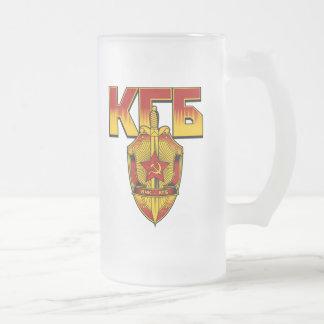 Russian KGB Badge Soviet Era Mug