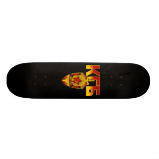 Russian KGB Badge Soviet Era Skateboard