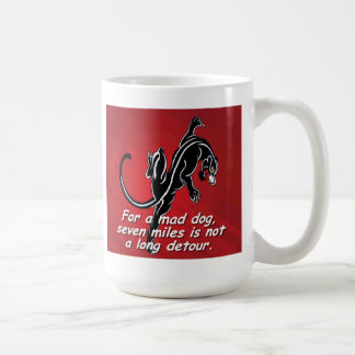 Russian language proverbs. Coffee mug -souvenir.