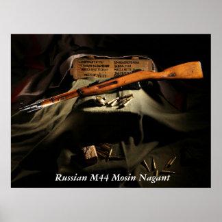 Russian M44 Mosin Nagant Poster