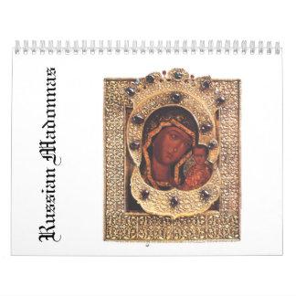 Russian Madonnas Calendar
