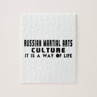 RUSSIAN MARTIAL ARTS Designs Puzzle
