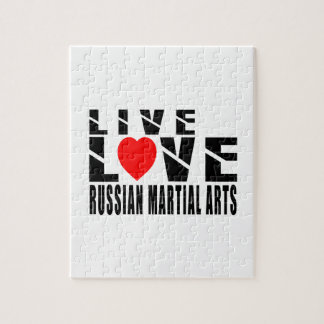 RUSSIAN MARTIAL ARTS. Designs Jigsaw Puzzles