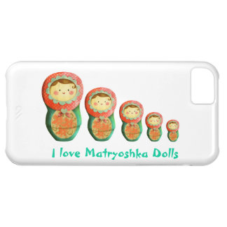 Russian Matryoshka Doll Case For iPhone 5C