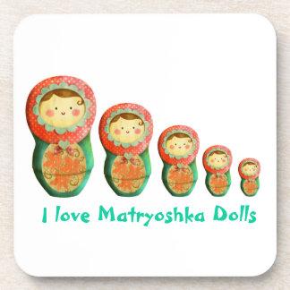 Russian Matryoshka Doll Coasters
