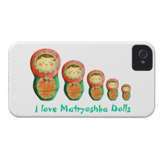 Russian Matryoshka Doll iPhone 4 Cover