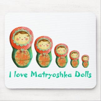 Russian Matryoshka Doll Mouse Pad