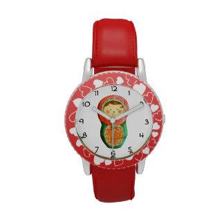 Russian Matryoshka Doll Watches