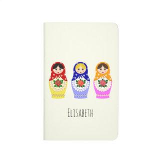 Russian matryoshka dolls journal