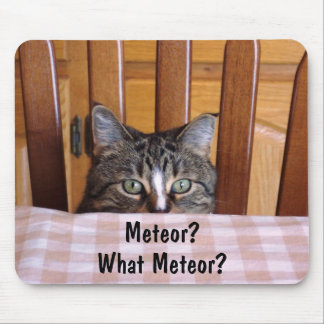 Russian Meteor Cat Mouse Pad