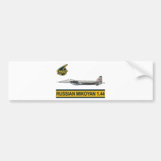 Russian Mig 1.44 Car Bumper Sticker