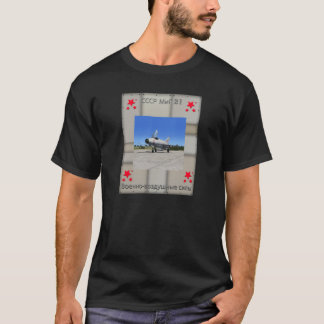 Russian MIG-21 Fighter Plane T-Shirt