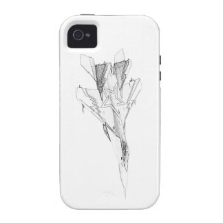 Russian MiG jet fighter aircraft iPhone 4/4S Case