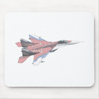 Russian MiG jet fighter aircraft Mouse Pad