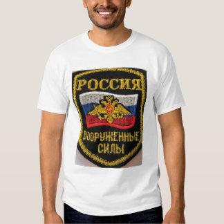 russian military badge t shirt