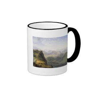 Russian Military Camp in Dagestan, 1895 Coffee Mug