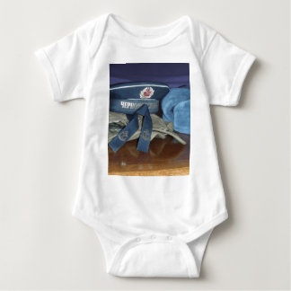 Russian Military Hats Baby Bodysuit