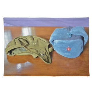Russian Military Hats Placemats