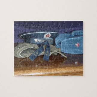 Russian Military Hats Jigsaw Puzzle