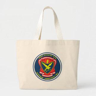 Russian military university of antiaircraft defens large tote bag