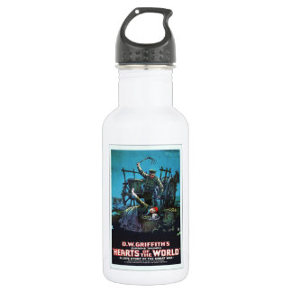Russian Movie Ad Stainless Steel Water Bottle