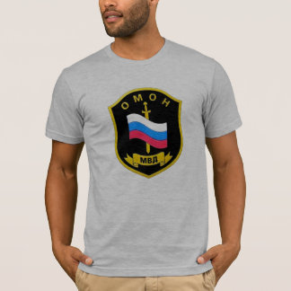 "Russian MVD Spetsnaz ""OMON"" T-Shirt"