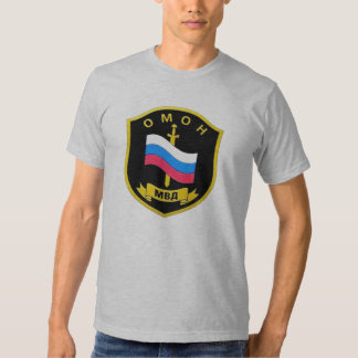 "Russian MVD Spetsnaz ""OMON"" Tee Shirt"