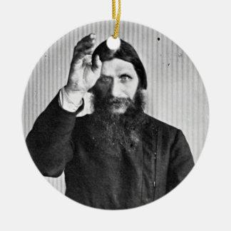 Russian Mystic Grigori Yefimovich Rasputin Ceramic Ornament