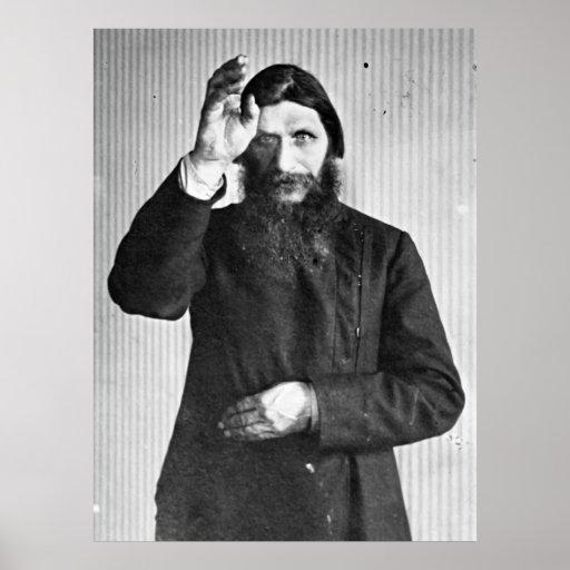 Russian Mystic Grigori Yefimovich Rasputin Poster