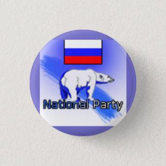 Russian National Party Logo Pinback Button