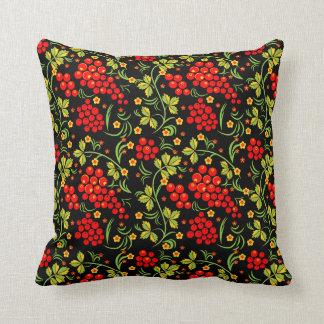 Russian national pattern pillow