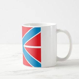 Russian Navy Jack Classic White Coffee Mug