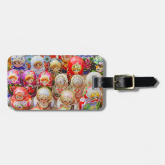 Russian Nested Dolls Bag Tag