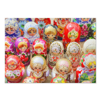 Russian Nested Dolls Card