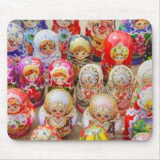 Russian Nested Dolls Mouse Pad