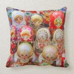 Russian Nested Dolls Pillow