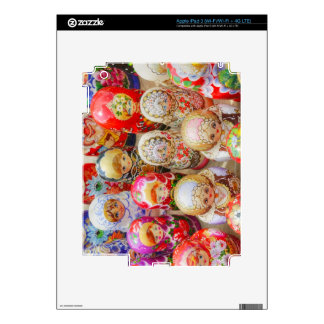Russian Nested Dolls Skin For iPad 3