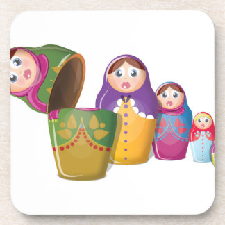 Russian Nesting Dolls Coaster