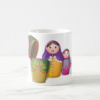 Russian Nesting Dolls Coffee Mug