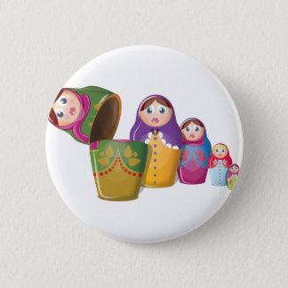 Russian Nesting Dolls Pinback Button