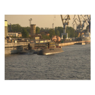 Russian Nuclear Submarines Postcard