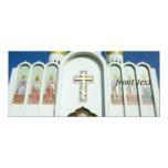 "Russian Orthodox Church 4"" X 9.25"" Invitation Card"