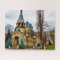 Russian Orthodox Church Dresden Germany. Jigsaw Puzzle