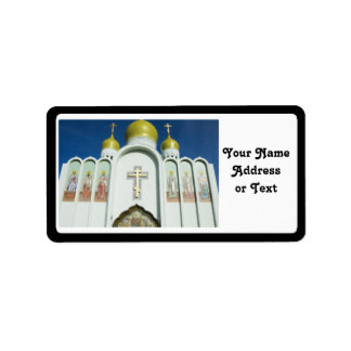 Russian Orthodox Church Address Label